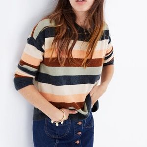 Madewell Pullover Sweater in Elmwood Stripe